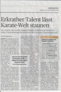 Karate Text, 20.11.15